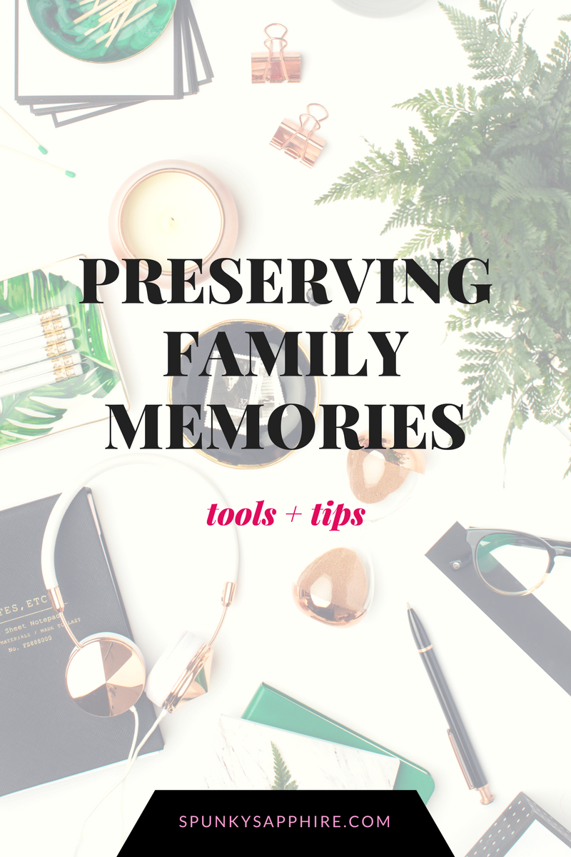Preserving Keeping Family Photos Memories