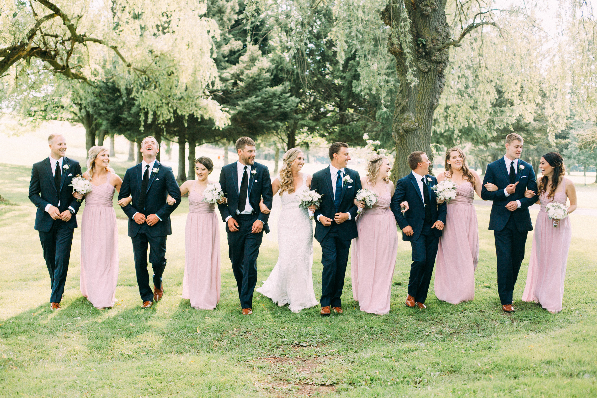 Flamborough Hills wedding party