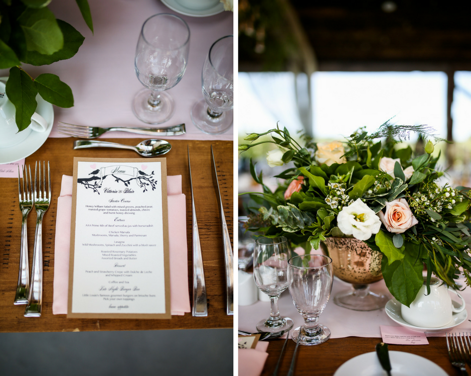 Elegant Wedding Harvest Table Real Wedding