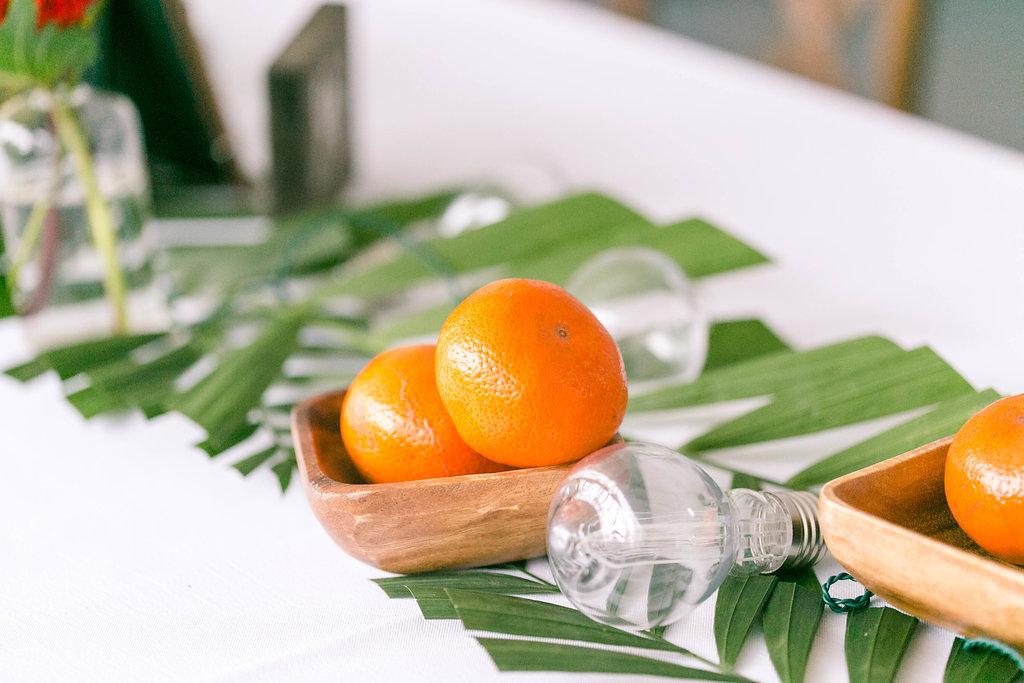 Real Fruit Wedding Design