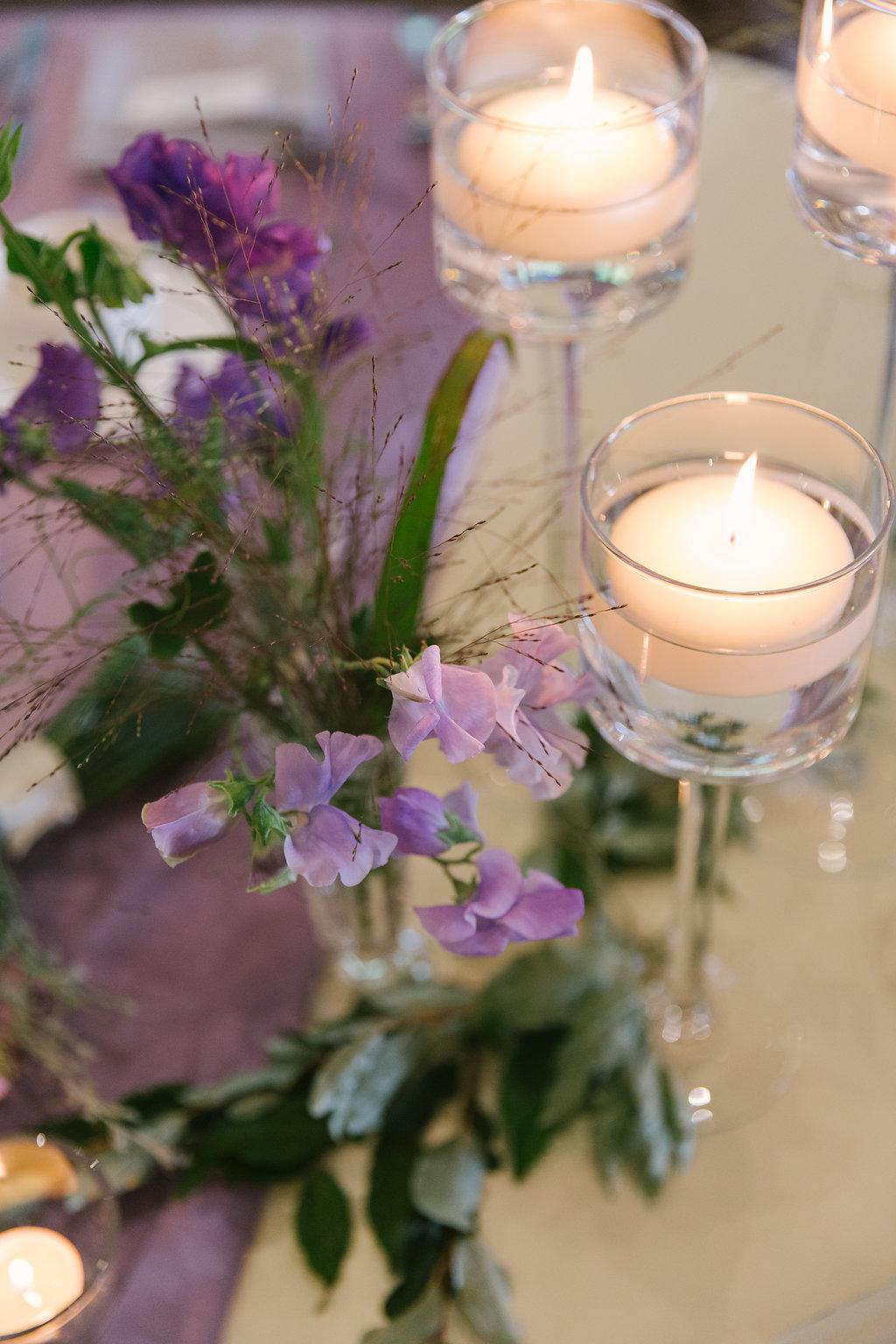 Purple Wedding Garden Decor | spunkysapphire.com
