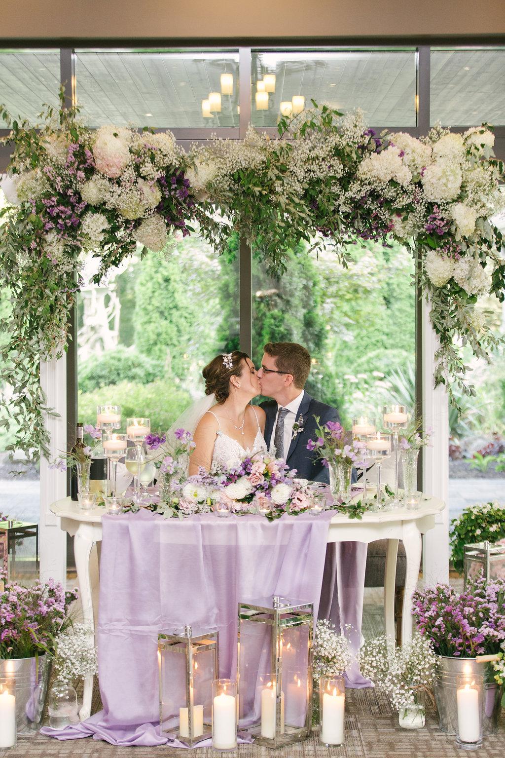 Romantic Garden Wedding Hamilton Ontario