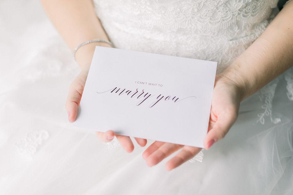 Wedding Day to my bride Card // spunkysapphire.com/blog