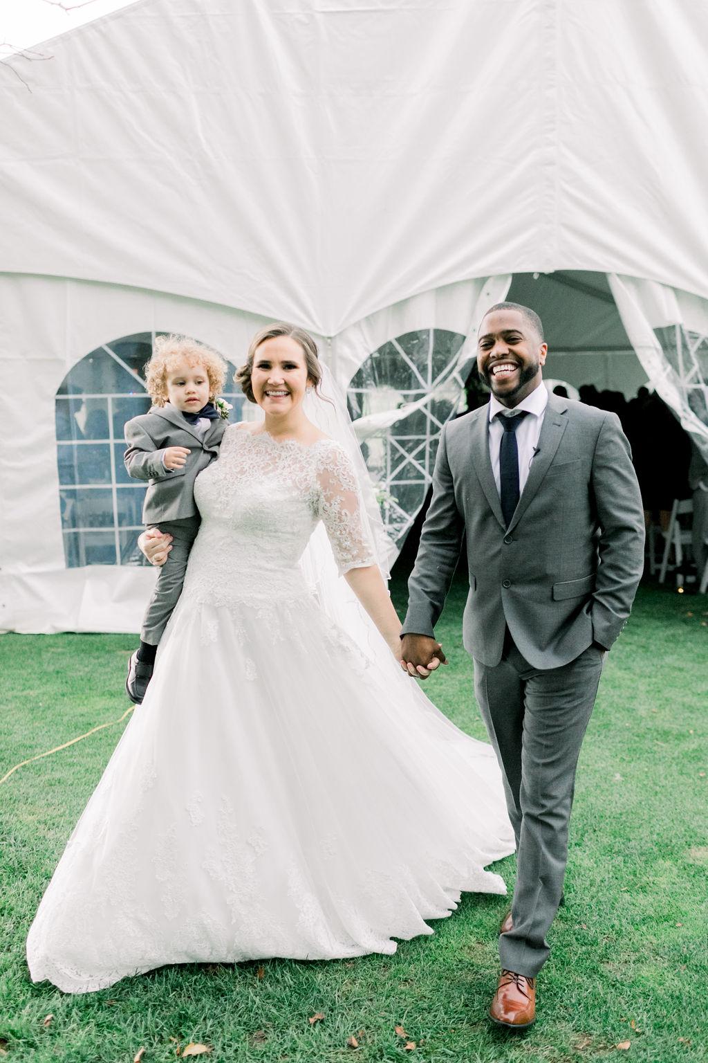 Real Tented Wedding // spunkysapphire.com/blog