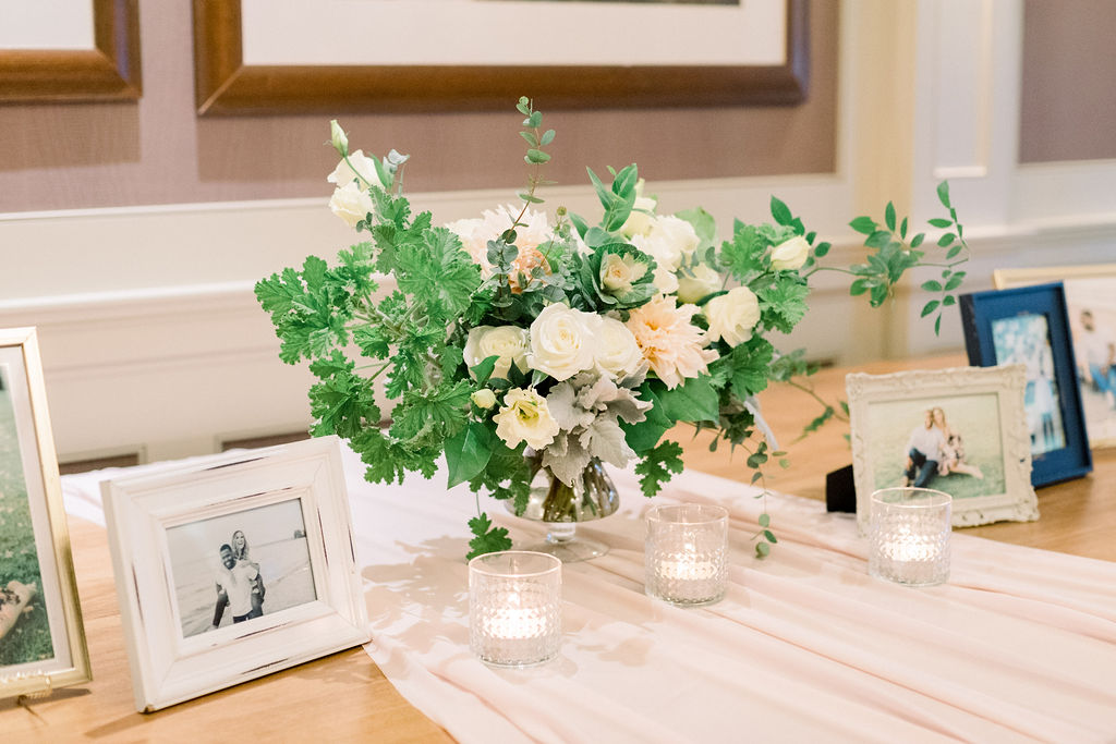 Wedding Memory Table // spunkysapphire.com/blog