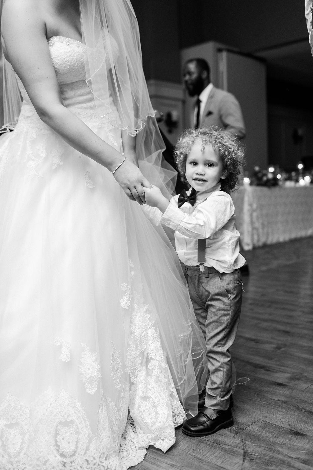Mother-Son Wedding Photo // spunkysapphire.com/blog
