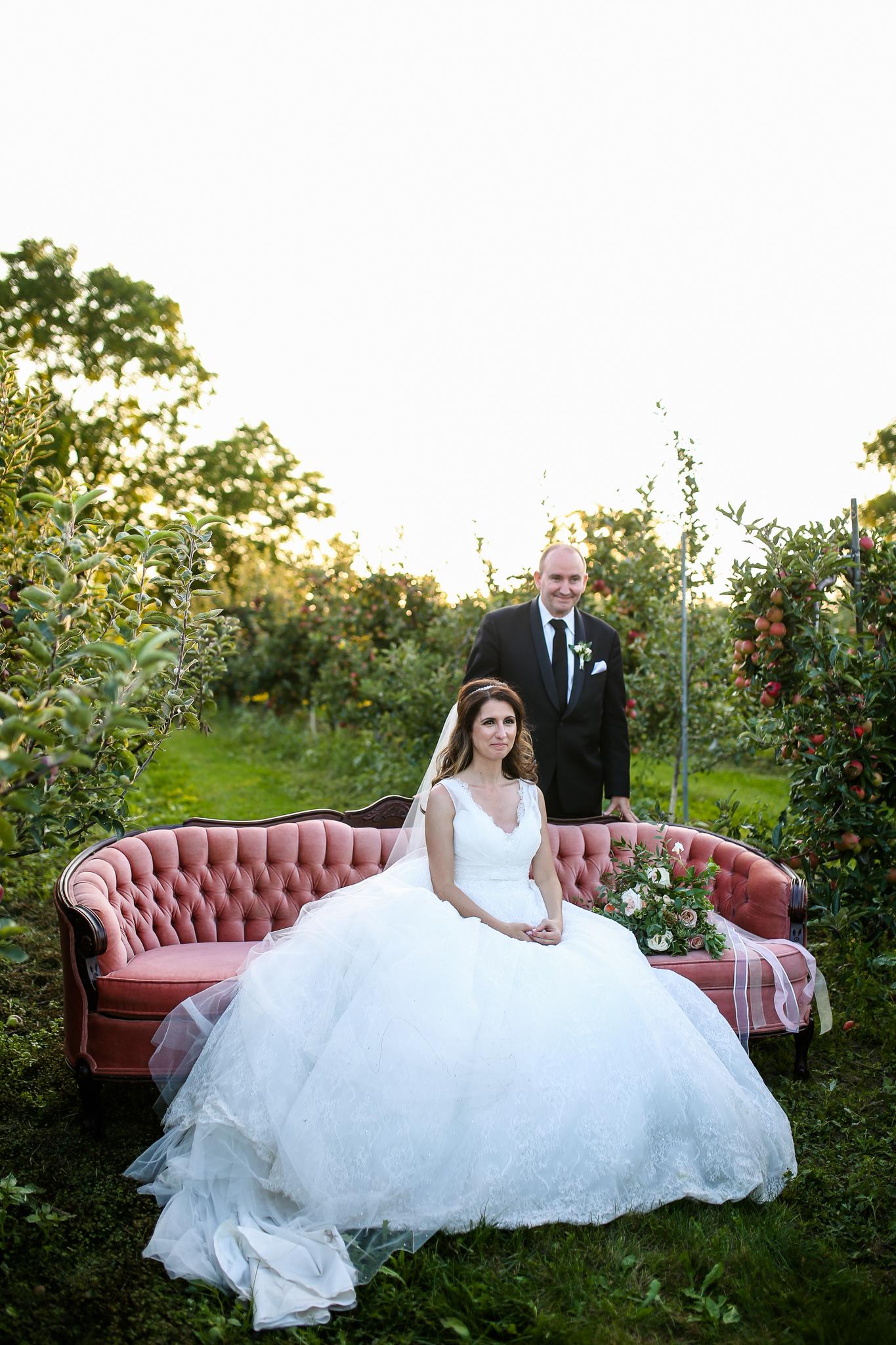 Outdoor Orchard Wedding Hamilton Ontario - spunkysapphire.com