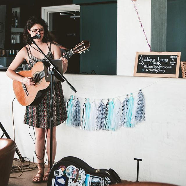 Addison Liming returns to the rooftop tomorrow during Happy Hour! She'll be blessing us with her tunes from 4-7 pm. Come check her out if you missed her at our anniversary party!  @rhymingliming  #kabanarooftop 📸 @rossgerhold