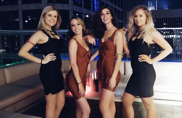 These lovely ladies have VIP tables waiting for you. Only a few left! #kabanarooftop