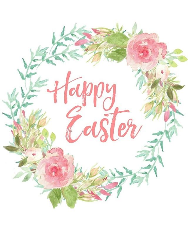 A very happy Easter to you! We'll see you tomorrow for Happy Hour starting at 4pm!