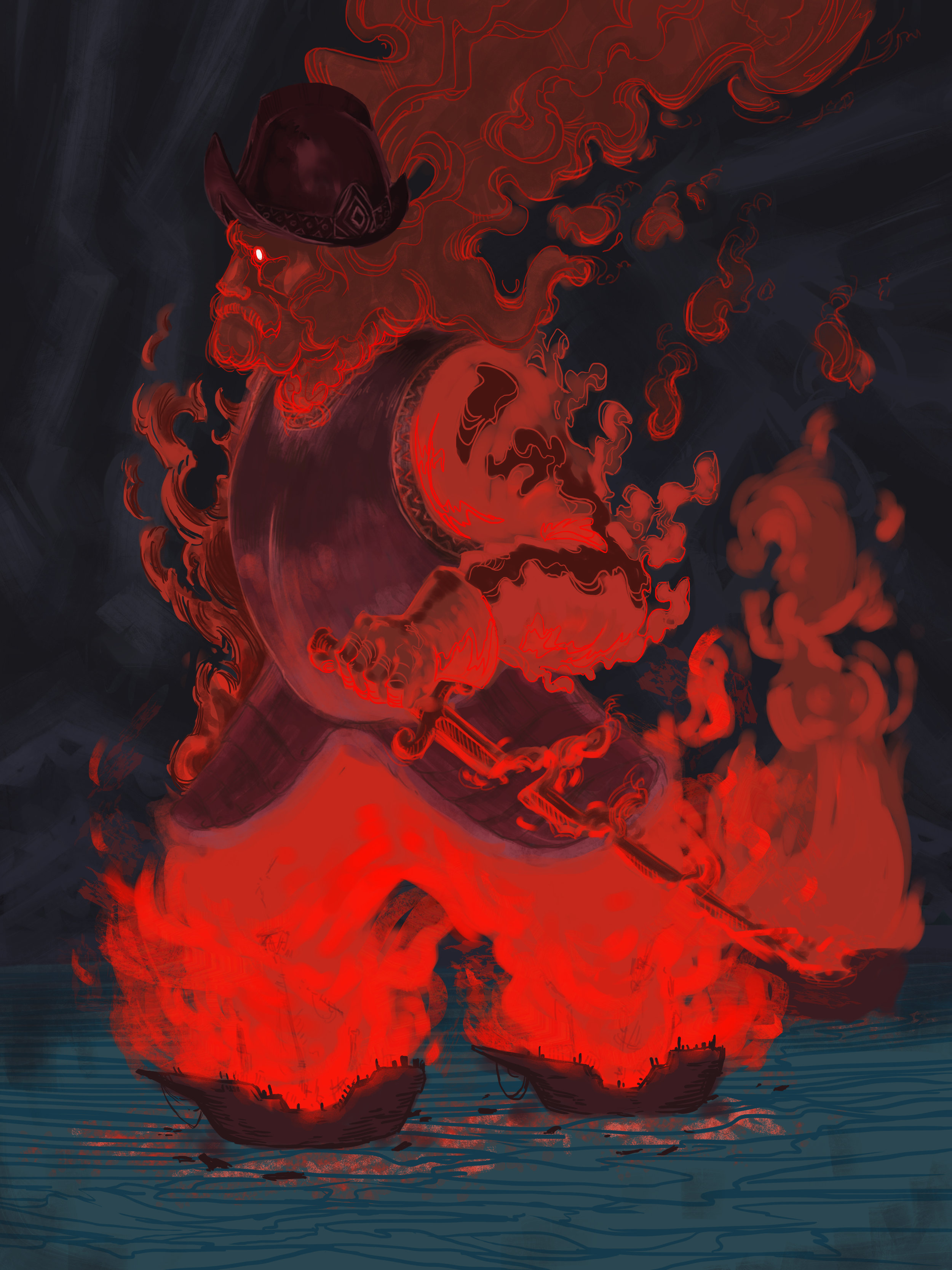 NMercer_BurningBoat.jpg