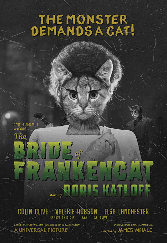 The Bride of Frankencat