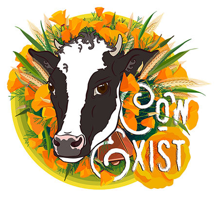 Cow Exist - May or may not be a subtle play on Co-Exist.