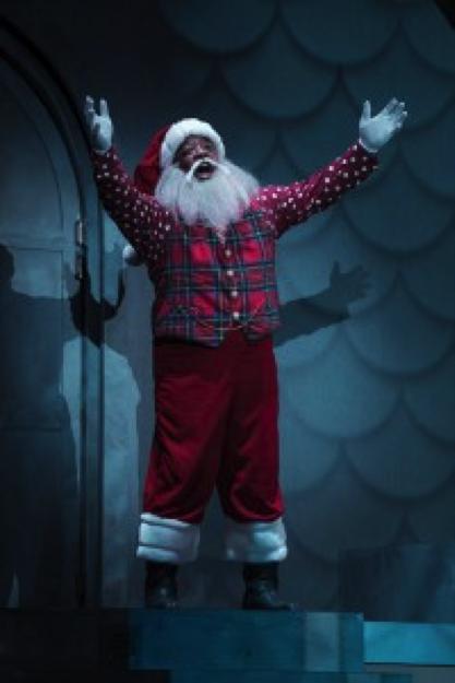 DeMone as Santa. Photo courtesy of Tuacahn