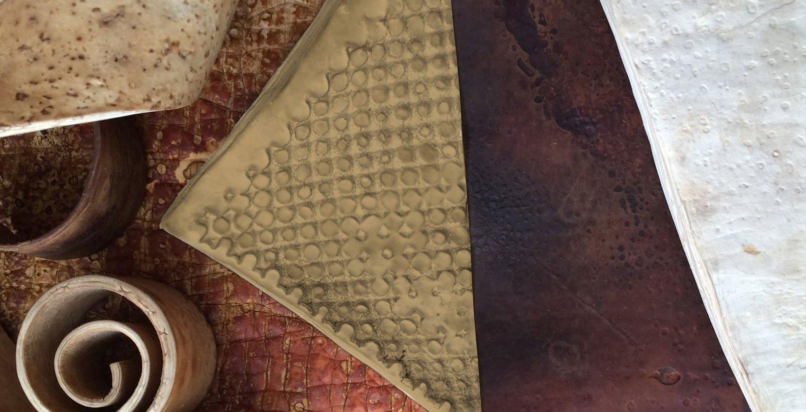 Mycoworks mycellium-based (fungus) leather. - Source:mycoworks.com
