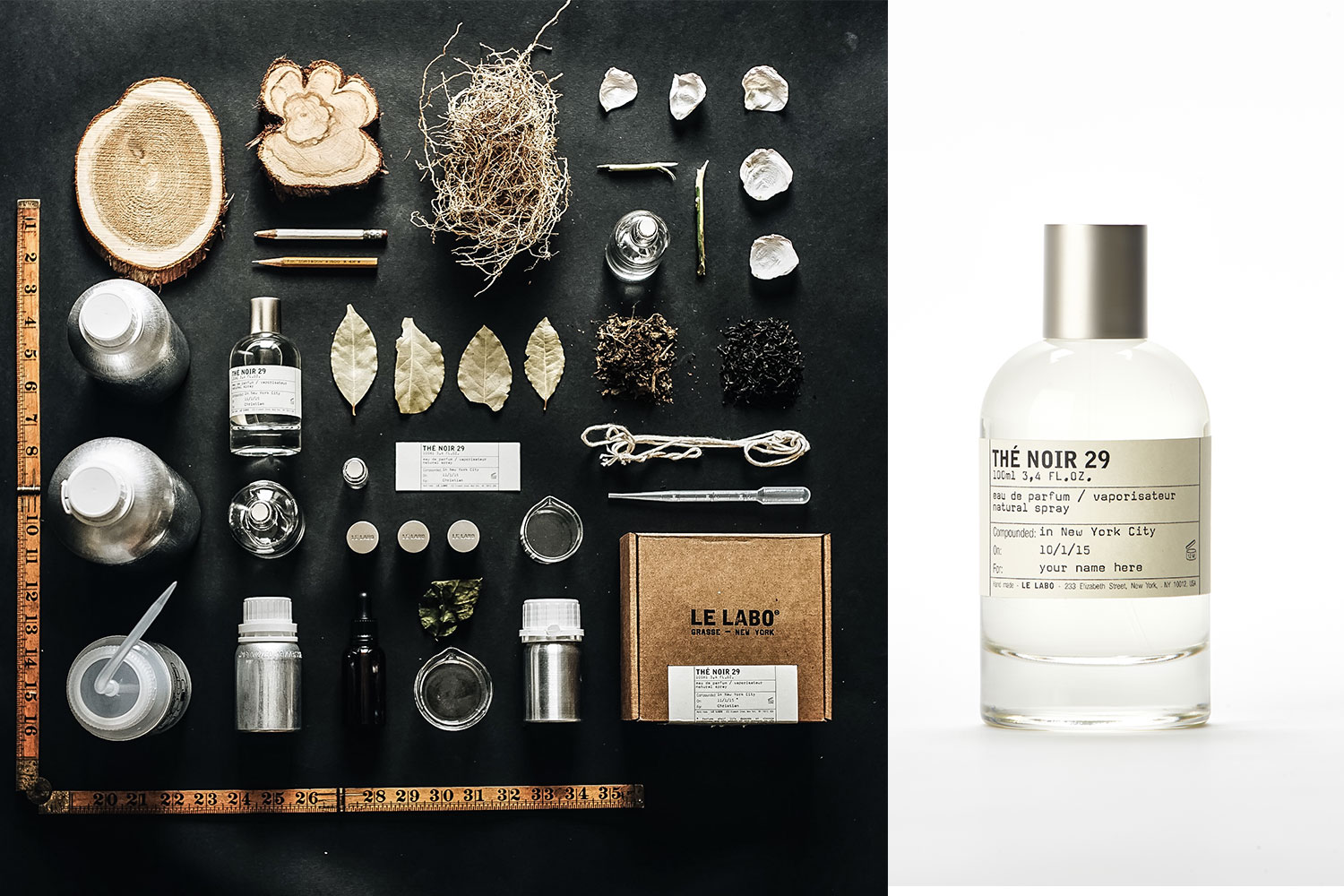 LE LABO   We believe that there are too many bottles of perfume and not enough soulful fragrances. We believe the soul of a fragrance comes from the intention with which it is created and the attention with which it is prepared. We believe fine perfumery must create a shock - the shock of the new, combined with the shock of the intimately familiar. We believe it is more humane to test cosmetics on New Yorkers than on animals.