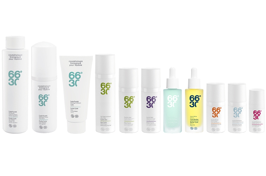 66º30   66°30 is a young, French, organic skin-care brand for men. Member of Cosmébio® organisation and certified by Ecocert) drawing on recent advances in green chemistry (green technology), promoting organic farming, local production and biodiversity.