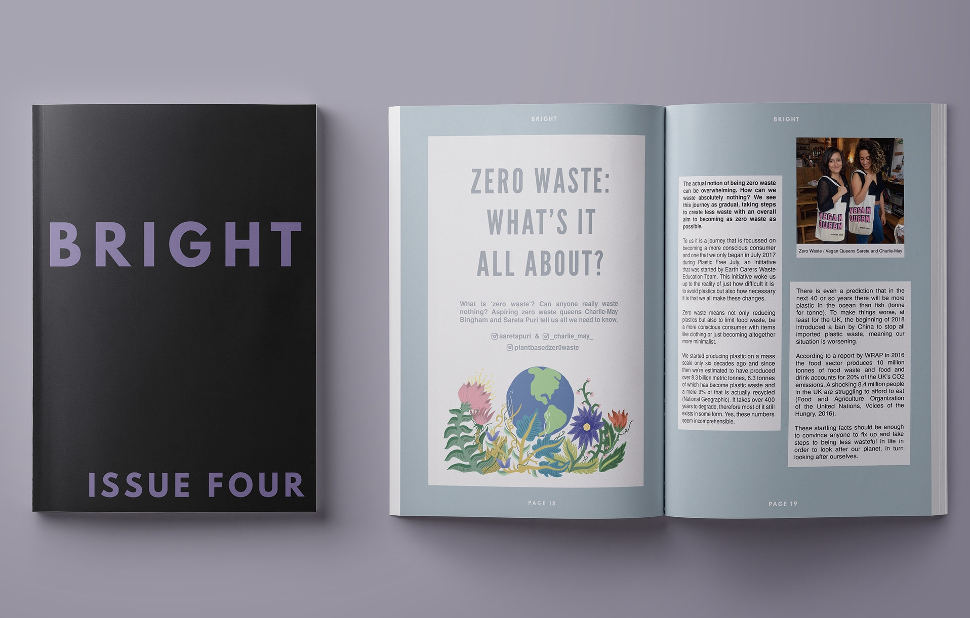 BRIGHT ZINE   A lifestyle magazine for the ethically minded.