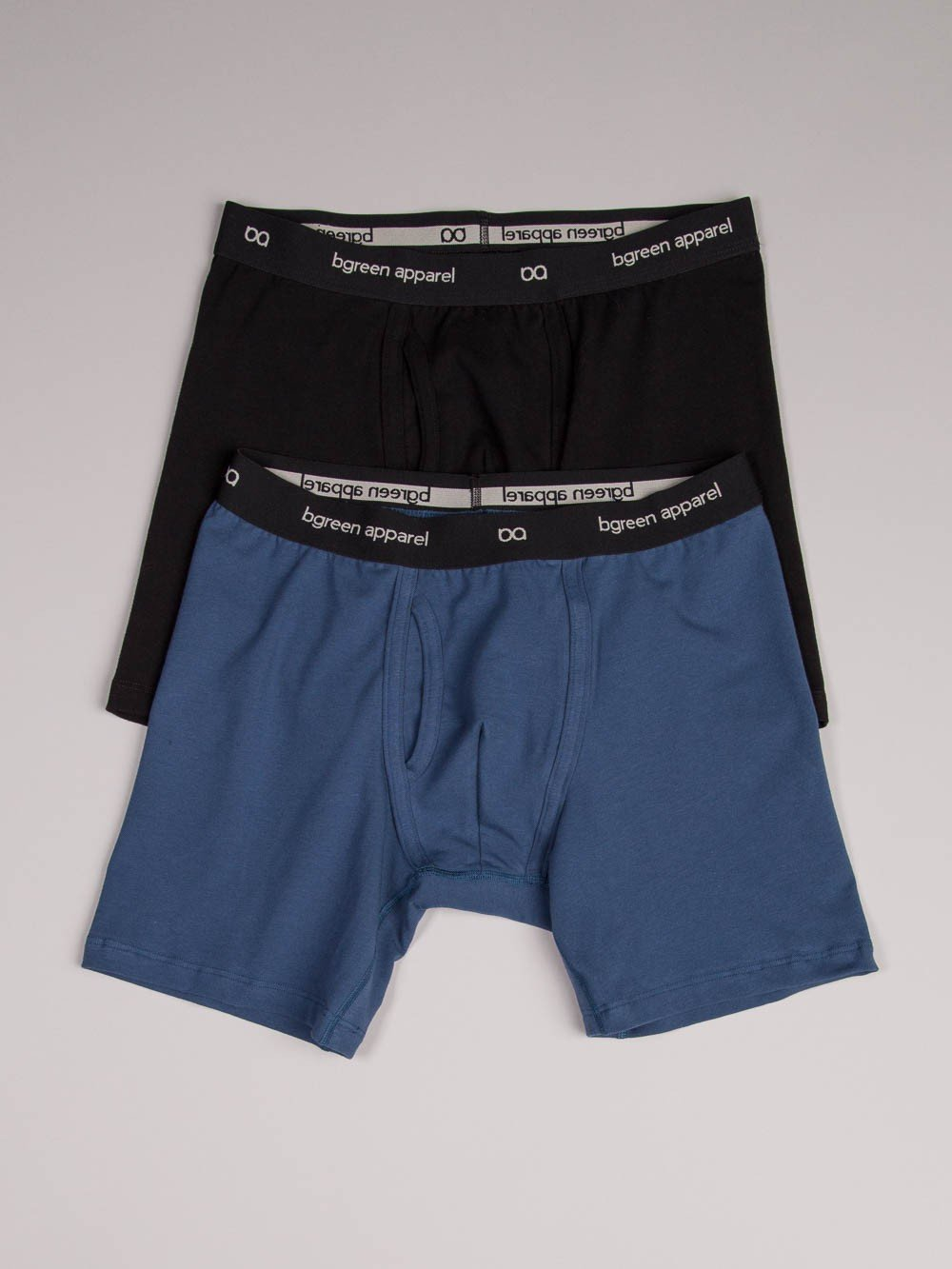 bgreen apparel - Made in the USA, boxer briefs in organic cotton.