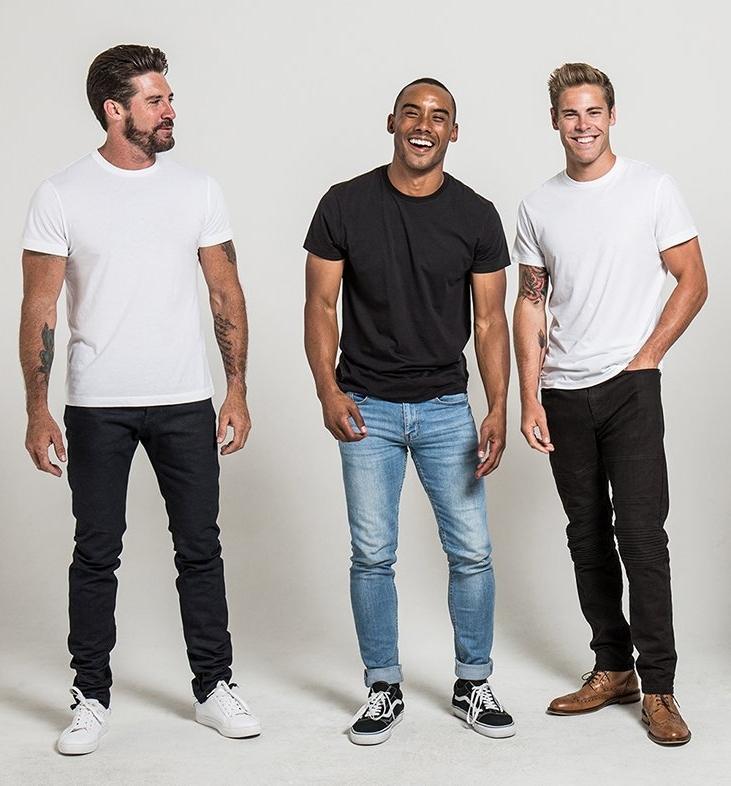 home base - Super comfy organic cotton tee in black or white.Classic Tee Shirt Company. $45