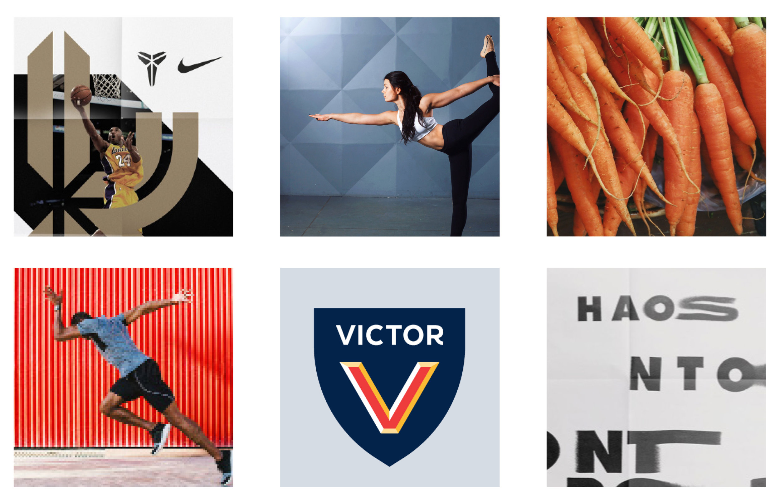 Moodboard: Inspiring, in the moment, movement, bold
