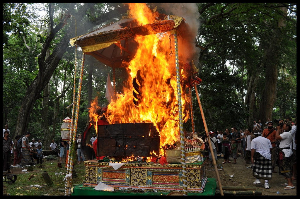 Balinese Cremation Ceremony - The Balinese view the cremation of a loved one as a time of celebration, and this is one reason why the Ngaben ceremony is so remarkable to outsiders. The local people are usually willing to allow respectful foreign guests to experience this unique way of sending off the deceased to the next life. One of the surprising things is that the person who is being cremated may have already been dead for years, but it is only now that the family can afford the cremation ceremony...READ MORE