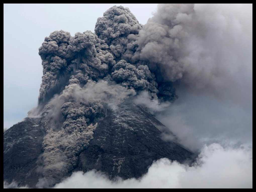 Mount Merapi's eruptions - THE BIG PICTURE - News Stories In Photographs (boston.com)November 8, 2010Since its initial eruptions on October 25th, Indonesia's Mount Merapi continues to spew hot gases and ash as far as 5,000 meters into the atmosphere, wreaking havoc on surrounding villages and farms, and disrupting air travel - and more than 140 people have been killed by the eruptions over the past two weeks…READ MORE