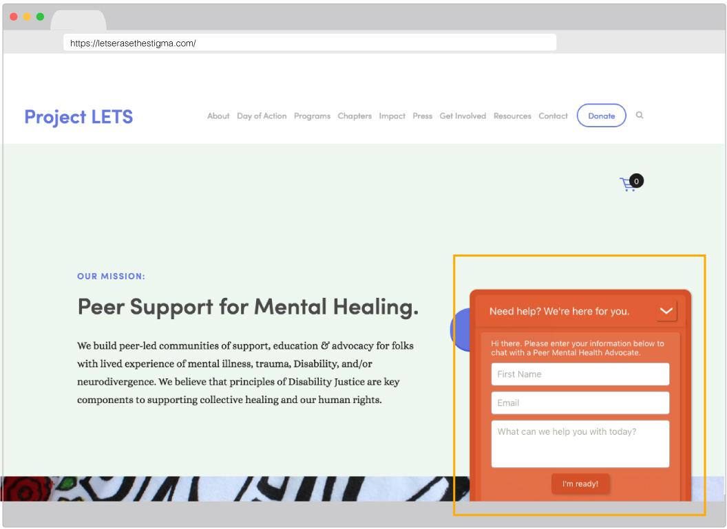 Immediate Support — Design Patterns for Mental Health