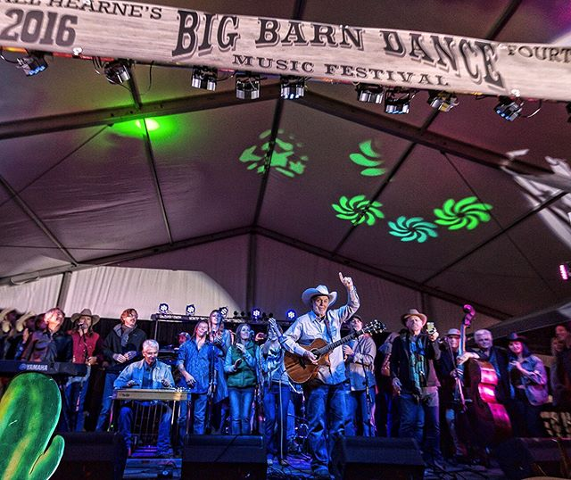 The highlight of the year, there's nothing like this gathering of talent and friends. Who's coming to the 2019 @bigbarndance ? Today at 1pm I'll be playing a set with @jimmy_daddy_davis We're both doing the @lambertsoftaos brunch on Sunday, and I'll continue the evening of with the traditional @sabrosotaos gig. I can't wait to see y'all there.