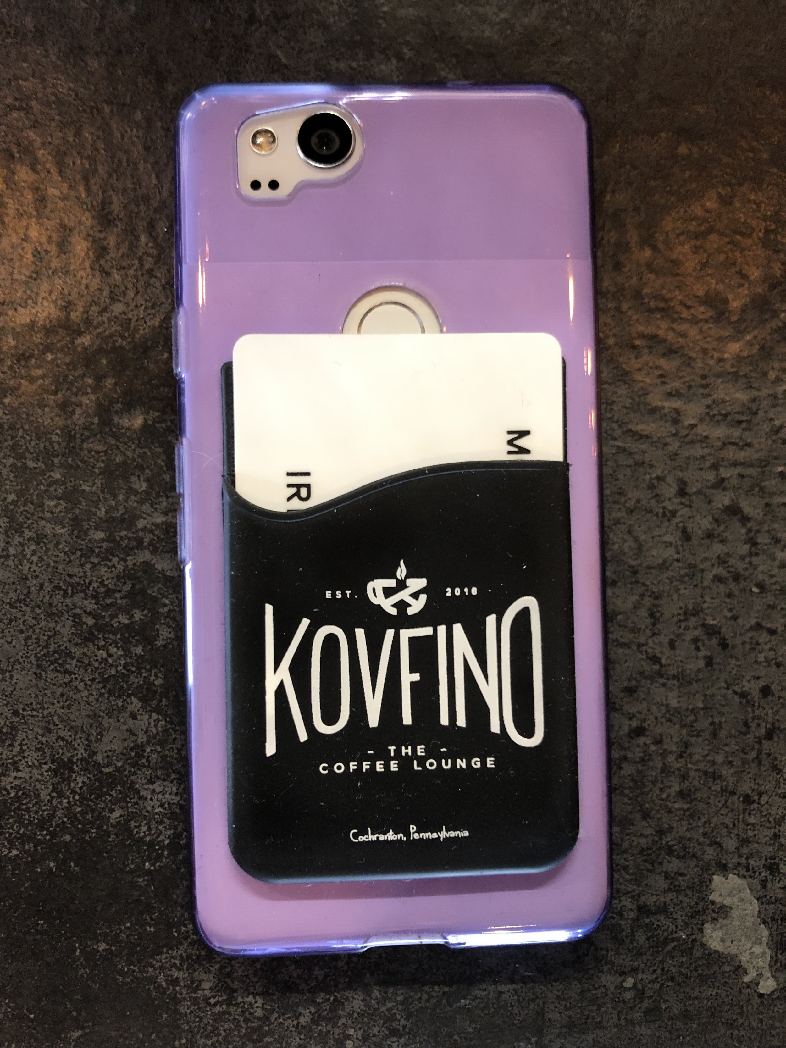 What an easy way to carry cards with your phone. This is a great buy at only $4.00