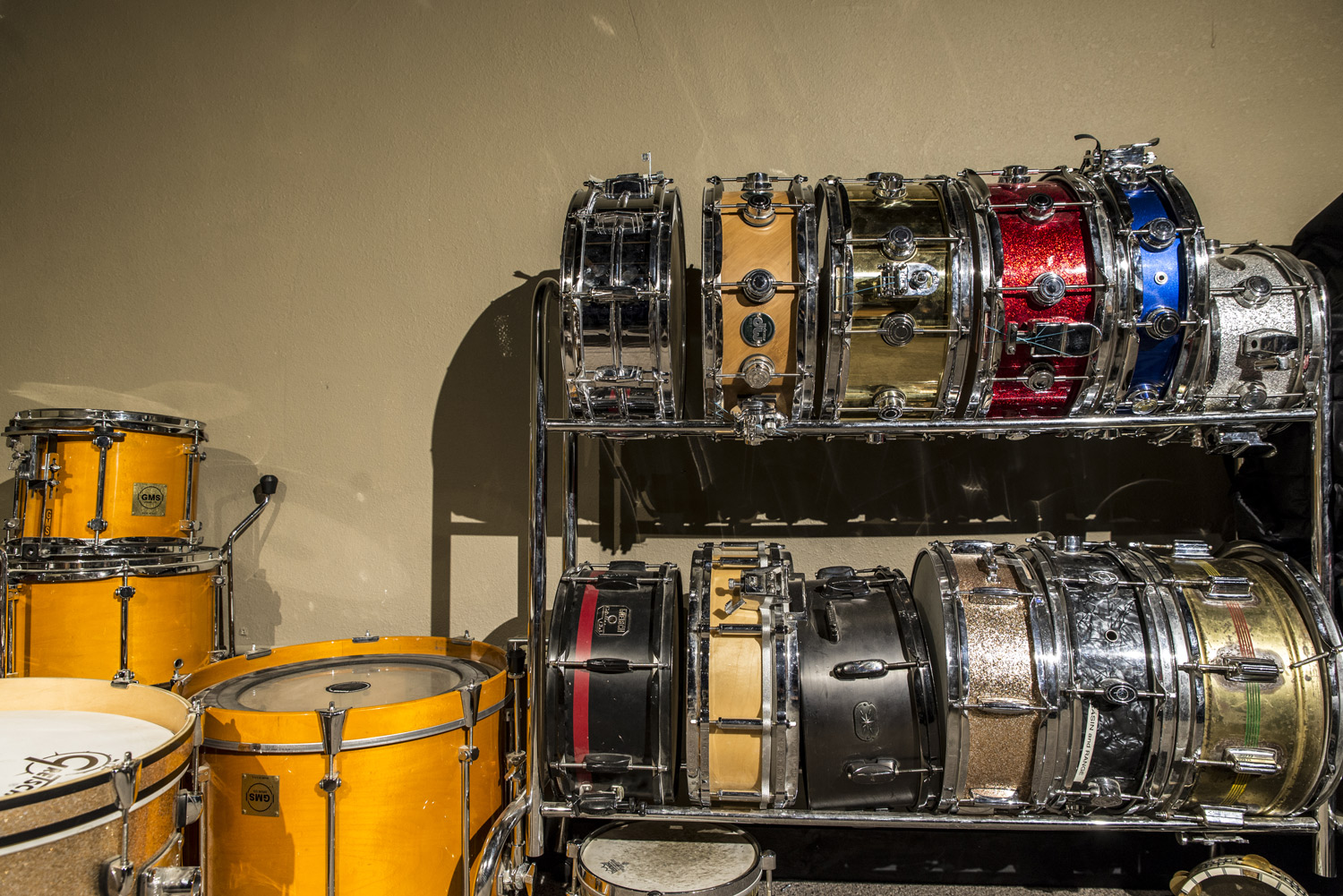 Sonor & DW Drum-kits