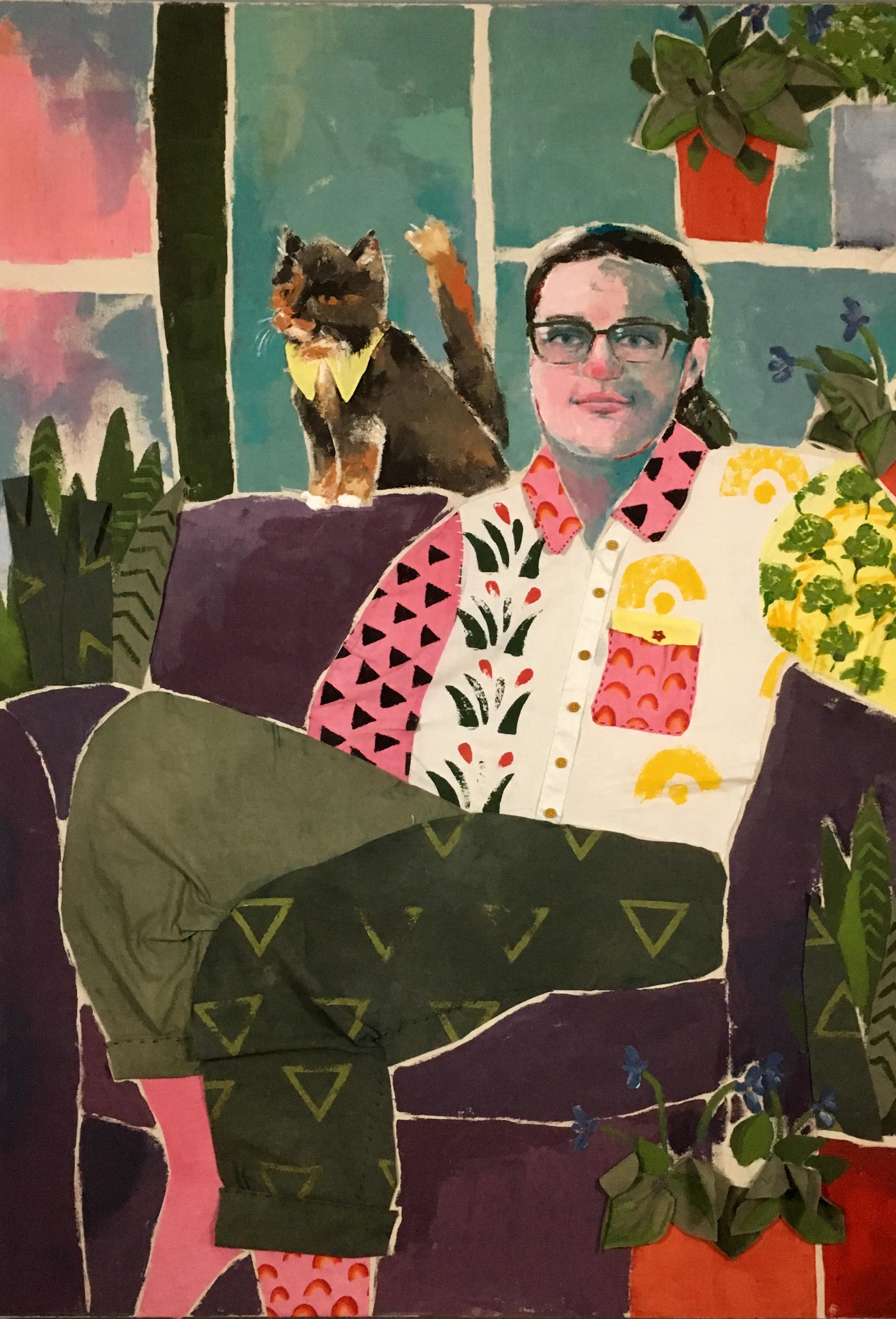 Hailey Bennett •Self-Portrait
