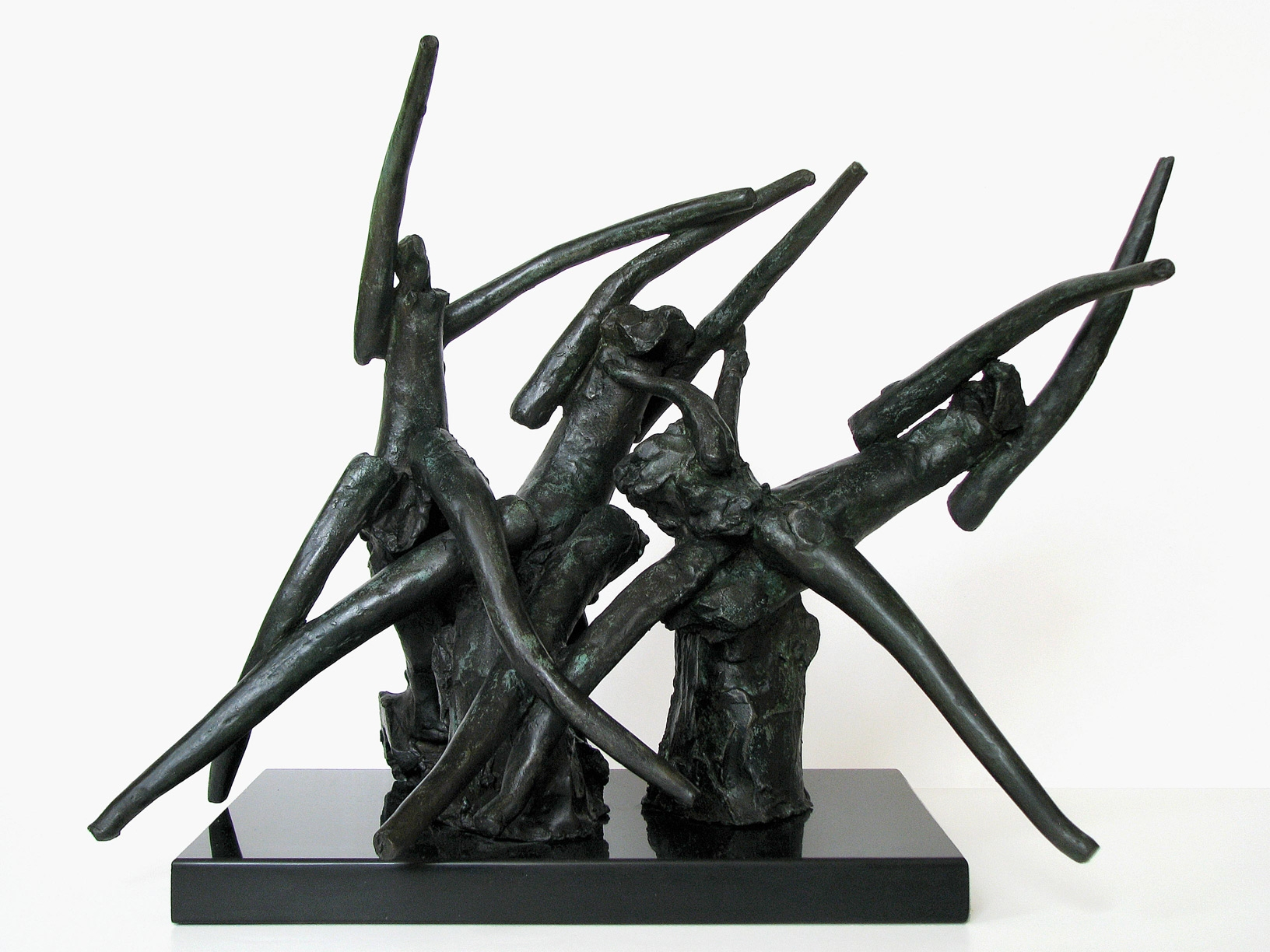 """Satyricon III  1982, bronze 14 ¾ x 22 ½ x 18 ½"""" Private collections 30.398"""