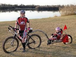 Weehoo bike trailer trailer bike and bicycle trailer
