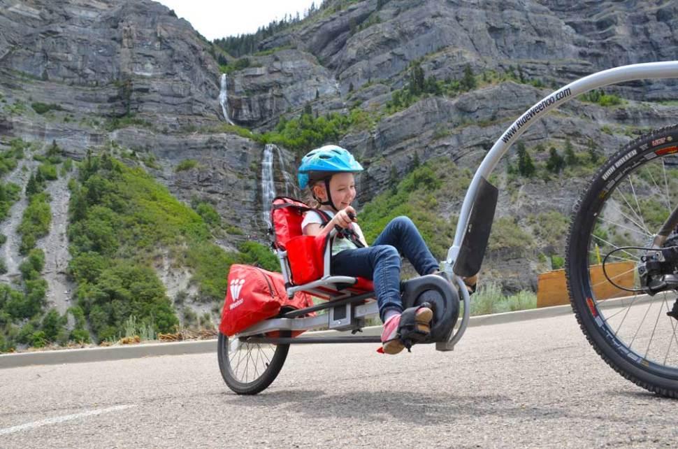 Weehoo®  Bike Trailer  |  Bicycle Trailer  |  Trailer Bike