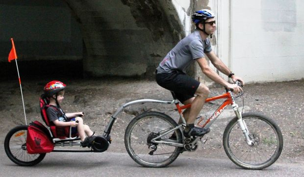 Weehoo®  Bike Trailer     Bicycle Trailer     Trailer Bike