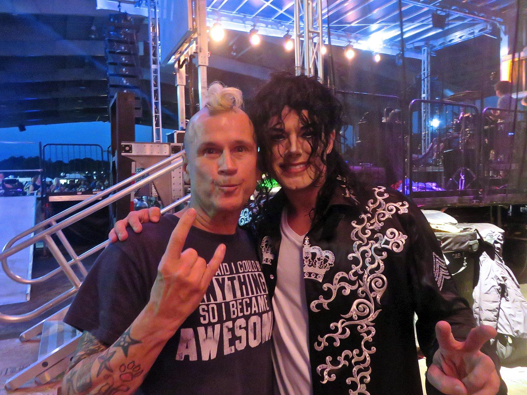 Rodney with Michael Firestone (I Am King)