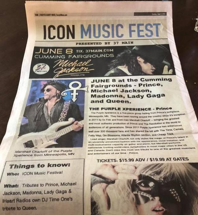 ICON Music Fest (June 8, 2019) in Cumming, GA