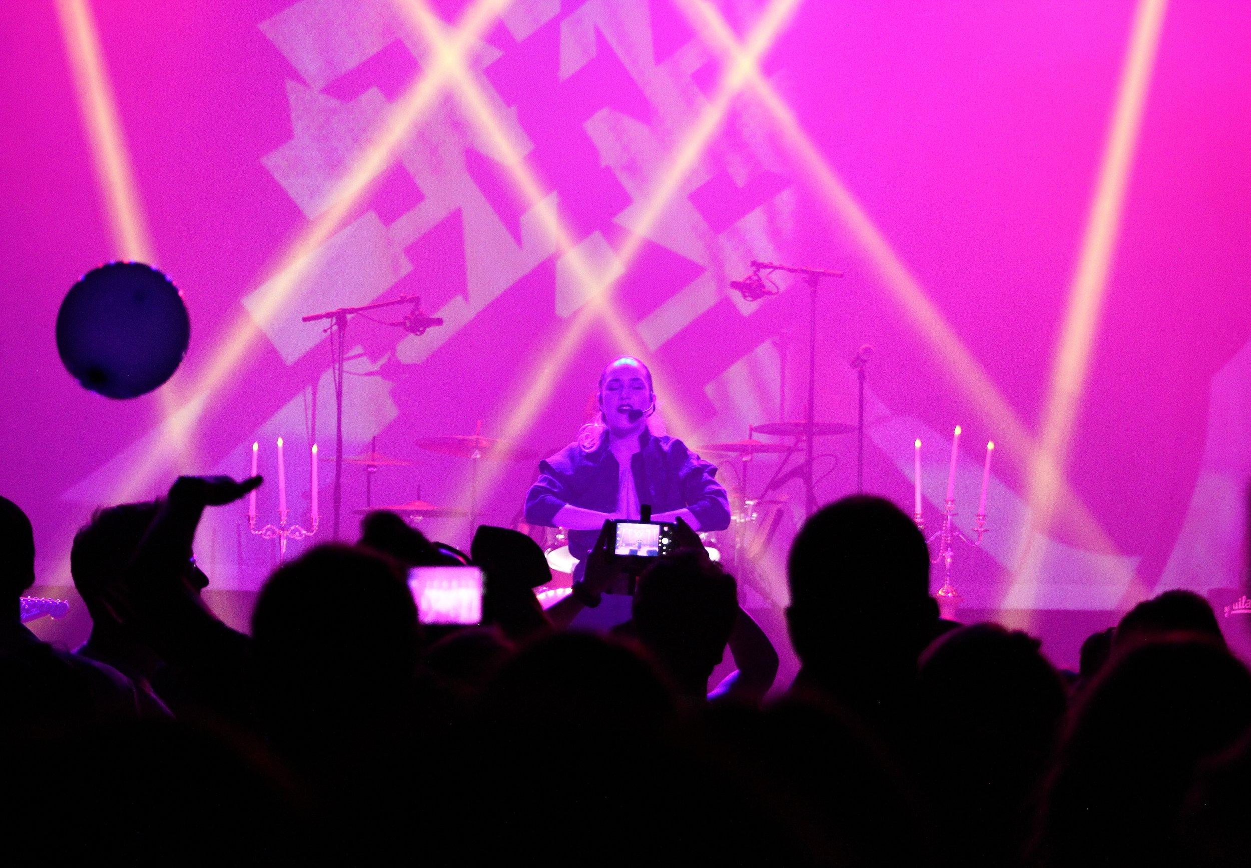 "Performing ""Like A Prayer"" in Phoenix"