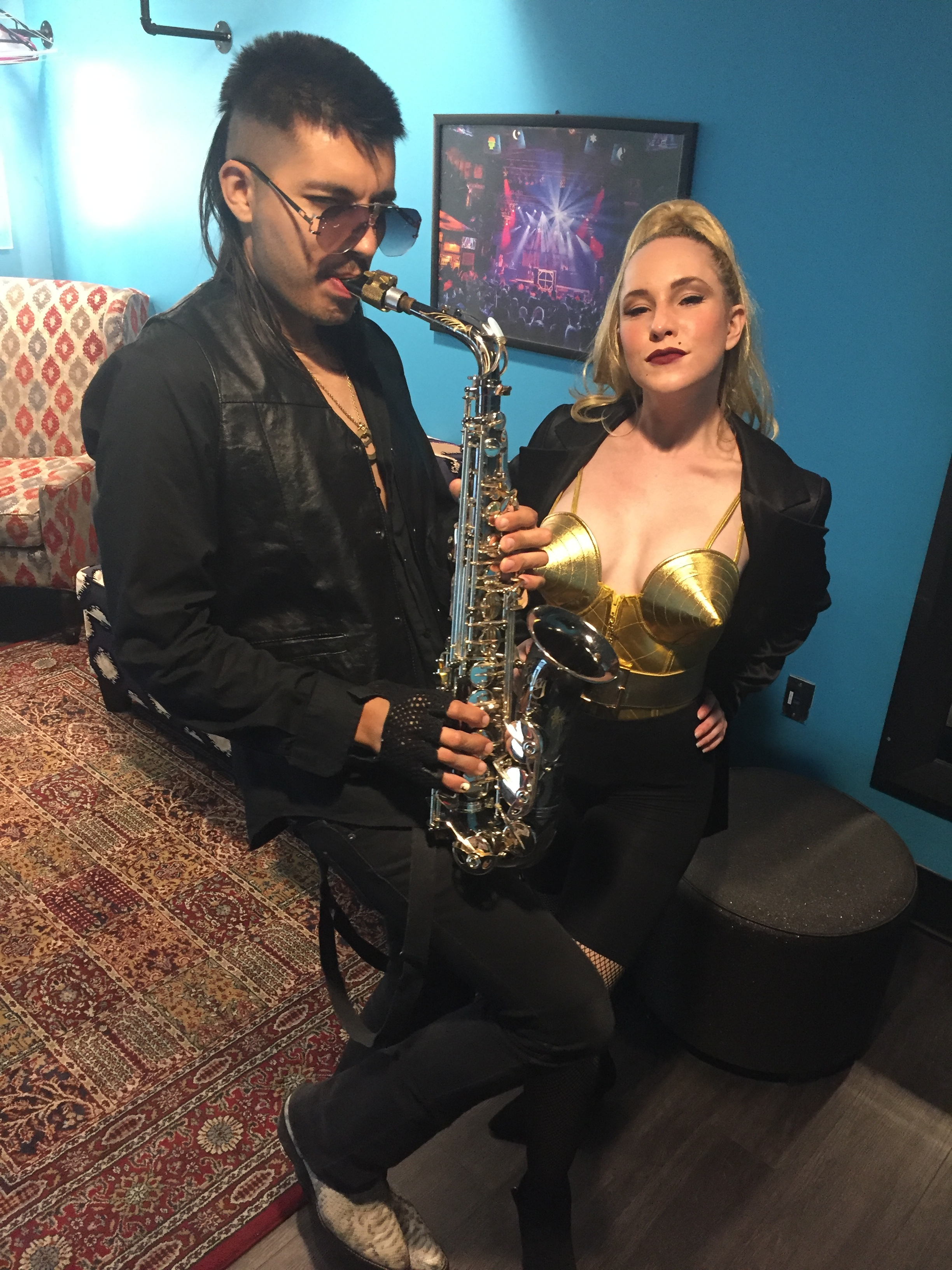 """""""Sexy Sax Man"""" at House of Blues 8/17/19"""