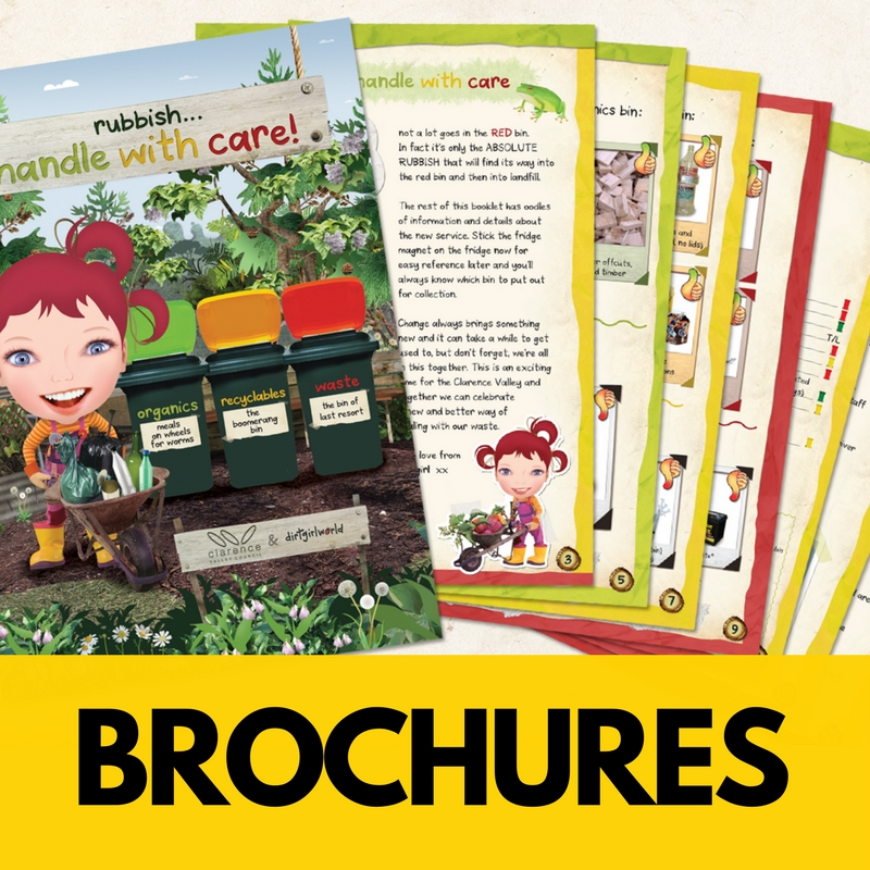 Brochures provide a neat way to deliver your message to people-  to both educate, and for future reference.  We've got your desire for attention grabbing brochures that really resonate - covered.