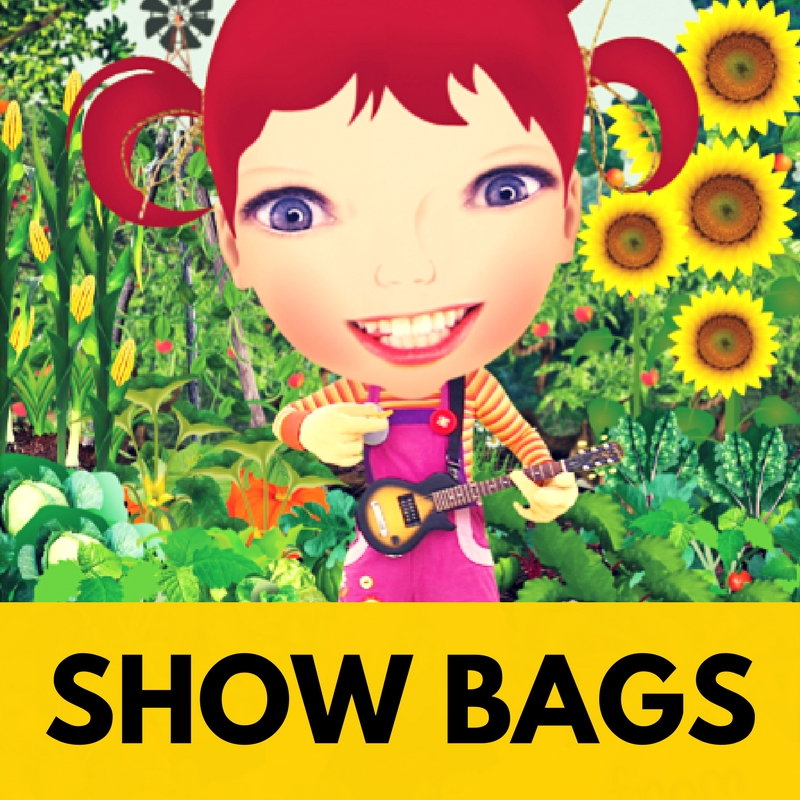 Everyone loves a show, and who doesn't love a show bag!   Bring your whole story together with our beautiful show bag art.