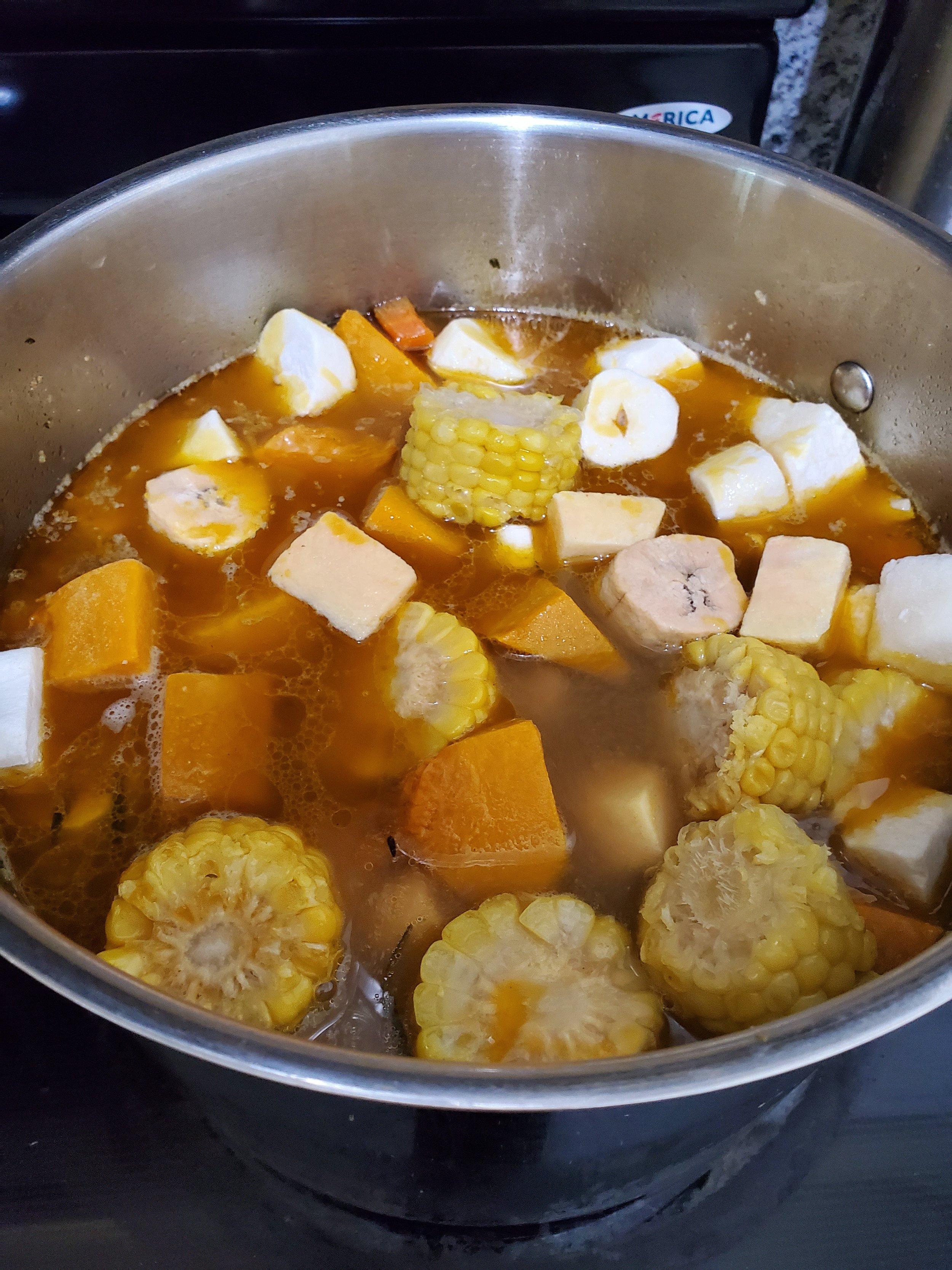 Add sancocho mix