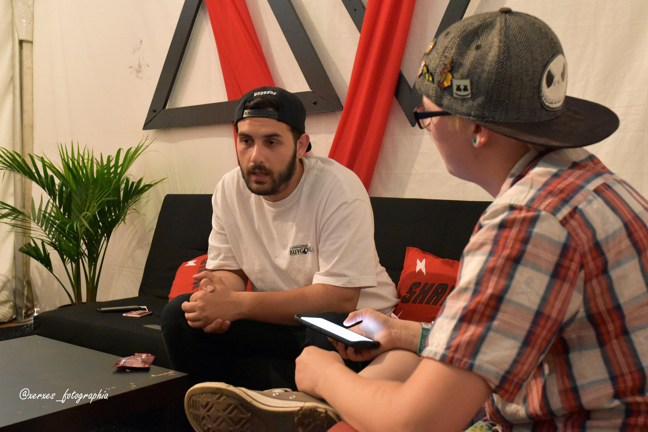 Kade's interview with Borgore!