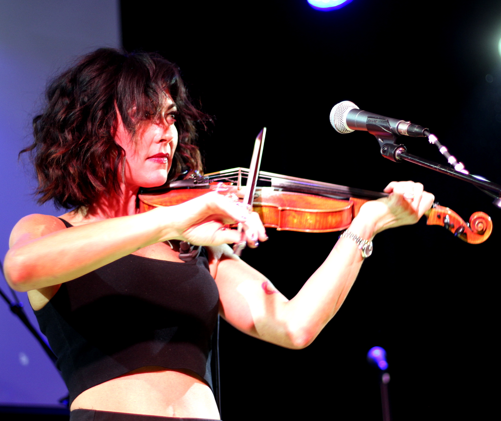 Amanda Shires at the Muscle Shoals Tribute
