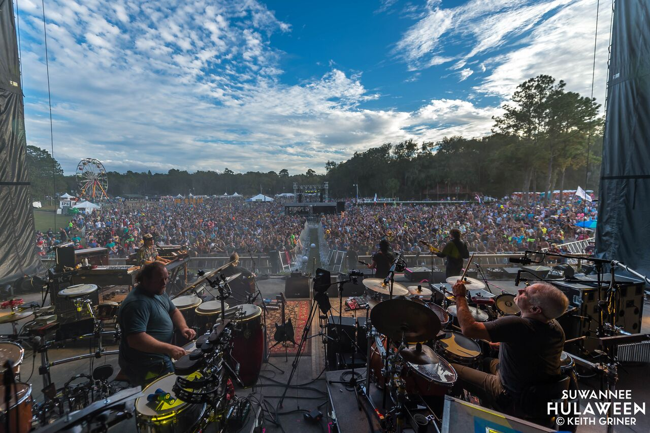 The String Cheese Incident at Suwannee Hulaween 2017 - Photo courtesy of Keith Griner
