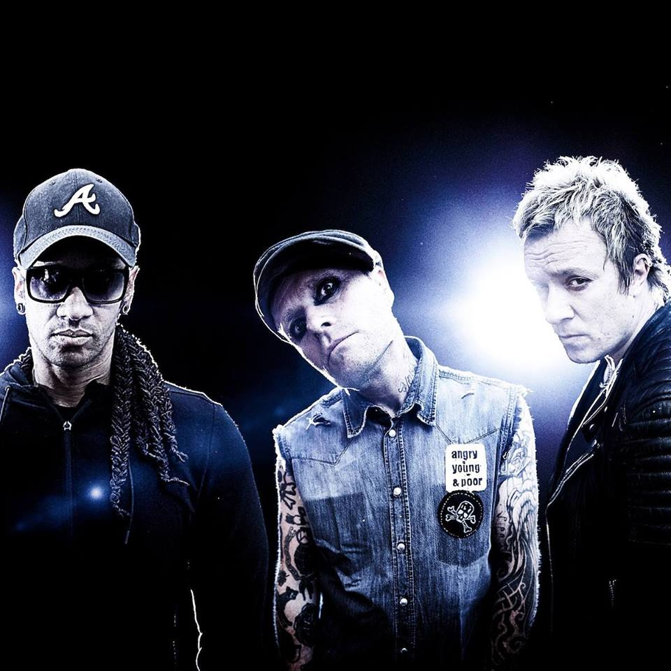 Band photo of  The Prodigy  from the group's Facebook page: https://www.facebook.com/theprodigyofficial/