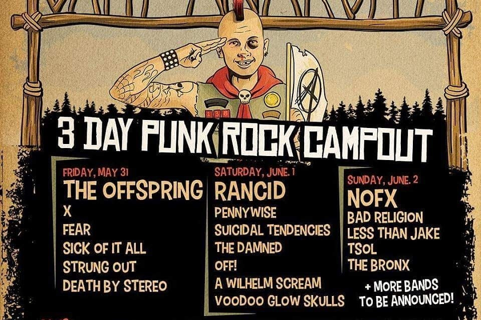 Camp Anarchy Line Up