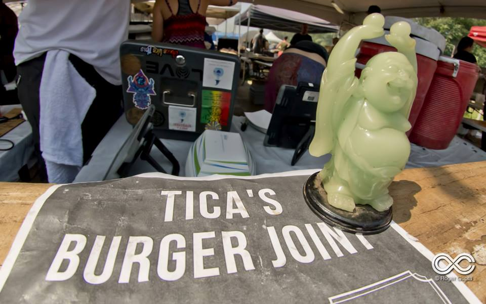Tica's Burger Joint at Lock'n Festival.