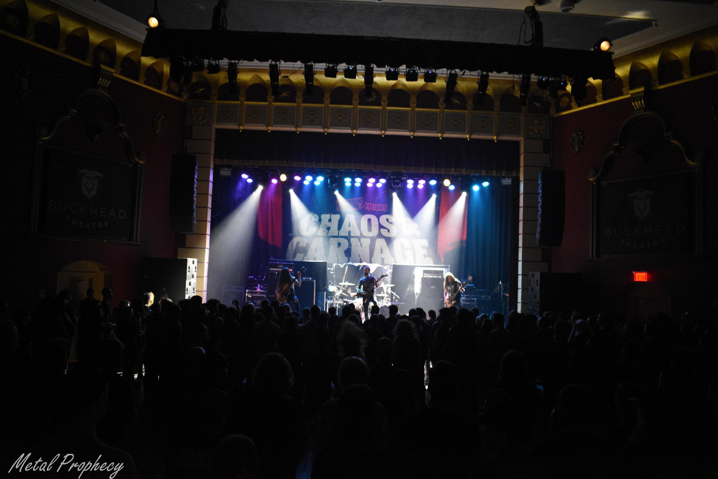 Revocation at Buckhead Theater